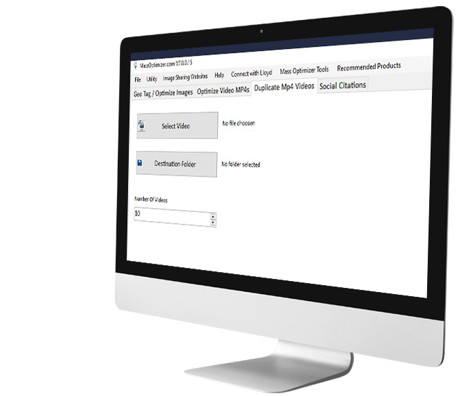 Mass Optimizer YouTube Social Citations Software